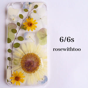 iPhone6/5/SE 押し花iPhoneケース 0907_4