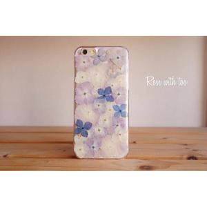 【再販】iPhone6/6s用 フラワーアートケース 押し花デザイン 0724_4