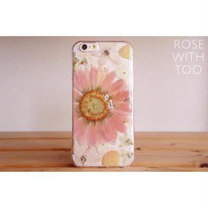 iPhone6/6s用 フラワーアートケース 押し花デザイン 0811_10