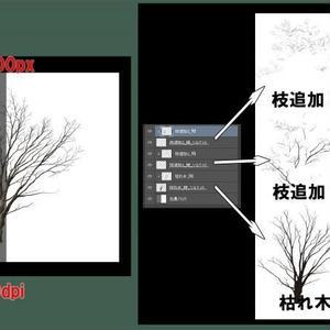 素材_枯れ木03