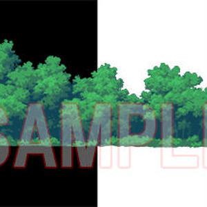 素材_遠景の木々04