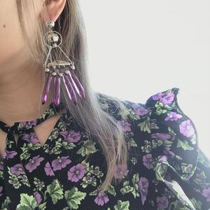 Purple *Silver Pierce