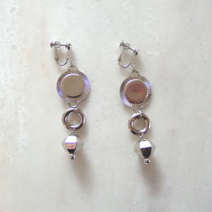 Silver Circle Earring