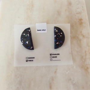 Half Moon Pierce -Black-