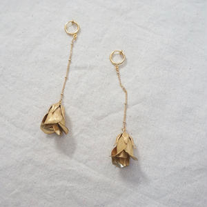 Vintage Flower Long  Earring