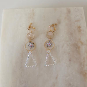 Star *Triangle Earring  (ピアス/チタンピアス変更可)