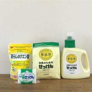 【original set】MIYOSHI|無添加 せっけんお洗濯 4点セット