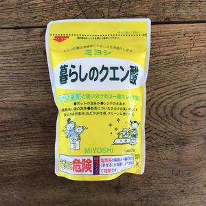 MIYOSHI|暮らしのクエン酸 330g / 101209