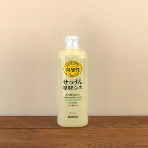 MIYOSHI|無添加せっけん専用リンス 本体 350ml/200307