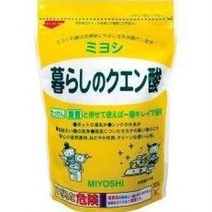 【まとめ買い】MIYOSHI|暮らしのクエン酸 330g×3個