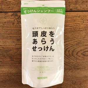 MIYOSHI|頭皮をあらうせっけんシャンプー 詰替 300ml