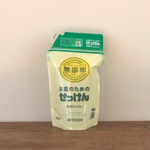 MIYOSHI|無添加 お肌のための洗濯用 液体せっけん 詰替 1000ml  / 102176
