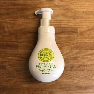 MIYOSHI|無添加 泡のせっけんシャンプー 500ml 本体/102350