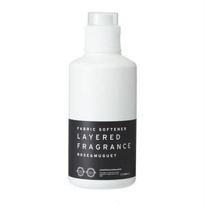 ファブリックソフトナー(柔軟剤)ローズ&ミュゲ 1000ml/Fabric Softener   LAYERED FRAGRANCE  Rose & Muguet