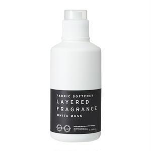 ファブリックソフトナー(柔軟剤)ホワイトムスク 1000ml/Fabric Softener   LAYERED FRAGRANCE White Musk