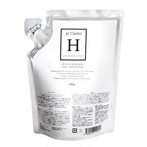 ジュテームHモイストクレンジングトリートメント 詰替用パウチ 400g / je t'aime H moist cleansing treatment