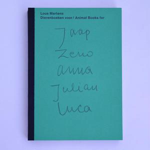 Animal Books For Jaap Zeno Anna Julian Luca