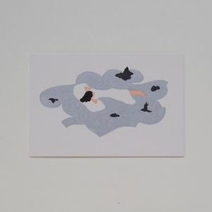 "324 Print studio ポストカード ""Kyoto Garden Dream"""