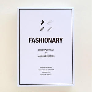 FASHIONARY ESSENTIAL BOXSET for FASHION DESIGNERS
