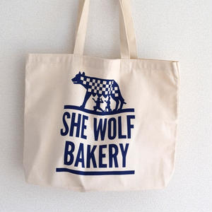 SHE WOLF BAKERY トートバッグ