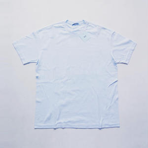 RAIN × AURALEE Seamless Crew Neck Tee (Light Blue)