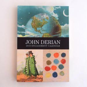 JOHN DERIAN 2018 ENGAGEMENT CALENDAR