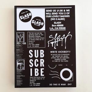 Slash: A Punk Magazine from Los Angeles, 1977–80