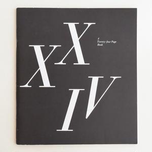 A Twenty Four-Page Book