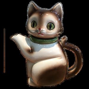 アメリカから来たキティCATポットちゃん