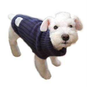 タートルネック ニットセーター(犬用)