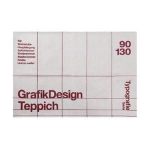 TYPOGRAPHY RUG (90 x 130cm)