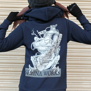 SH11NA WORKS 2018 official hoodie (Navy)