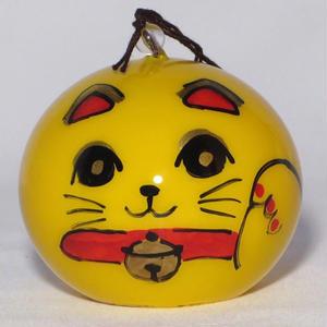 小丸 金運招き猫(ぱっちり)