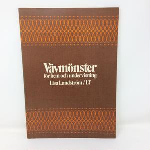 【古本】B229   スウェーデン織り80のパターン Vavmonster /  Lisa Lundstrom