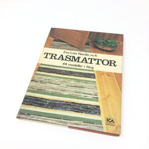 【古本】B043 Eva-Lisa Nordin m.fl. - Trasmattor 44 modeller i färg