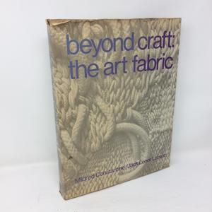 【古本】B115 洋書 beyond craft: the art fabric Mildred Constantine / Jack Lenor Larson