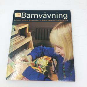 【古本】B045 Barnvavning 子供の織りの本 スゥエーデン