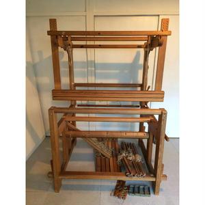 D076【USED】GLIMAKRA フィンランド製 機織機 手織機 (パーツ説明書あり)