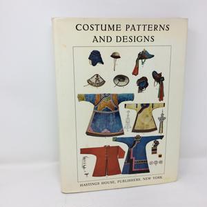 【古本】B117 洋書 COSTUME PATTERNS AND DESIGNS  /Max Tilke