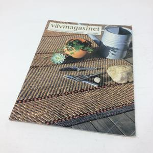 【古本】B061  VÄV MAGASINET  Scandinavian Weaving Magazine.  Nr 2 2000