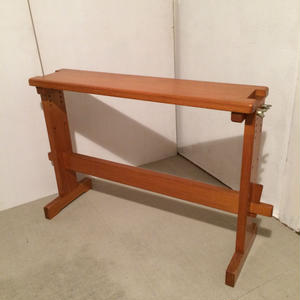 B068【USED】機織用椅子 高さ変更可能