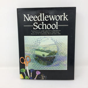 【古本】B243   Needlework School   Embroidery Guild Constance Howard Sewing