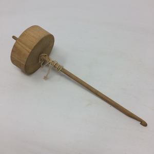 D021【USED】スピンドル 紡錘車 24㎝