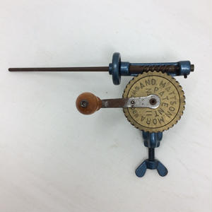 F057【USED】AND MATTSON MORA  Sweden Bobbin Winder 緯糸巻 小管巻