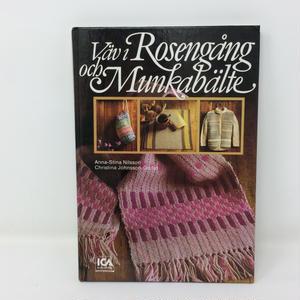 【古本】B238   スウェーデンのローゼンゴン織りとムンカベルテ織り Vav i Rosengang och Munkabelte