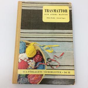 【古本】B095 TRASMATTOR OCH ANDRA MATTOR - MÄRTA BRODÉN & GERTRUD INGERS - 1959
