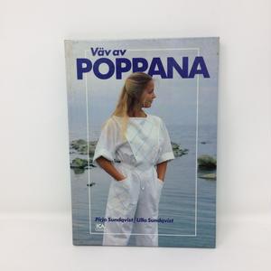 【古本】B228   フィンランドのポッパナ織り Vav av poppana / Pirjo Sundqvist、Ulla Sundqvist