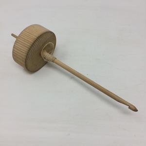D020【USED】スピンドル 紡錘車 22㎝