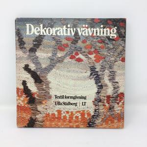 【古本】B235  Dekorativ vavning スウェーデン 絵織りの本 /  Ulla Stalberg