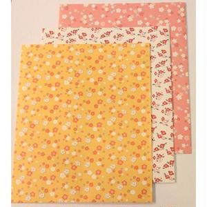 花小紋ラッピング袋 大 3枚セット